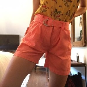 High waisted Calvin Klein shorts
